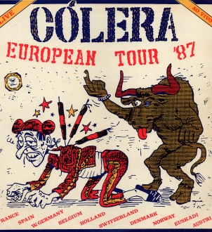 Cólera – European Tour '87 (CD)
